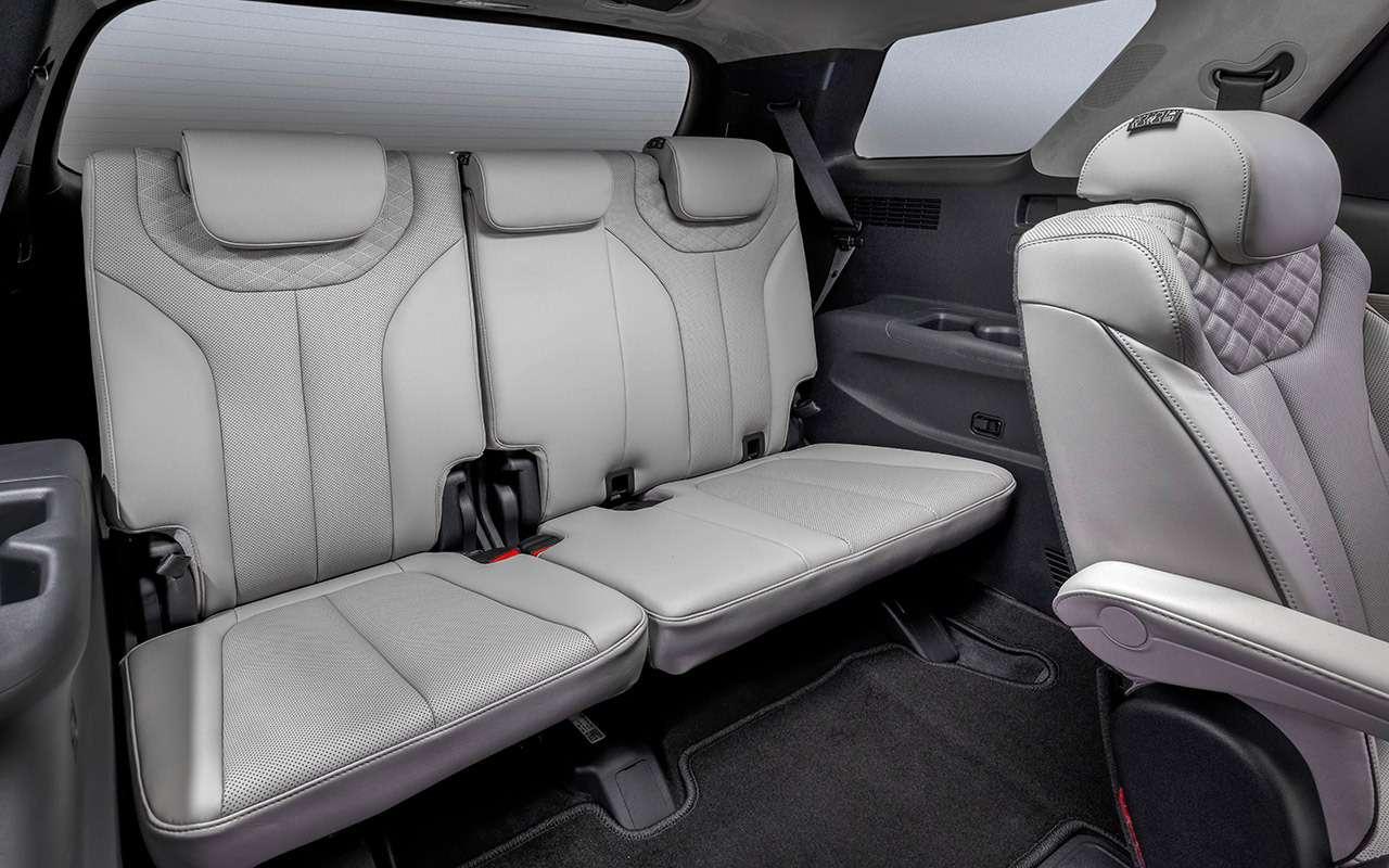 Hyundai Palisade: рассаживаем семерых— фото 1234038