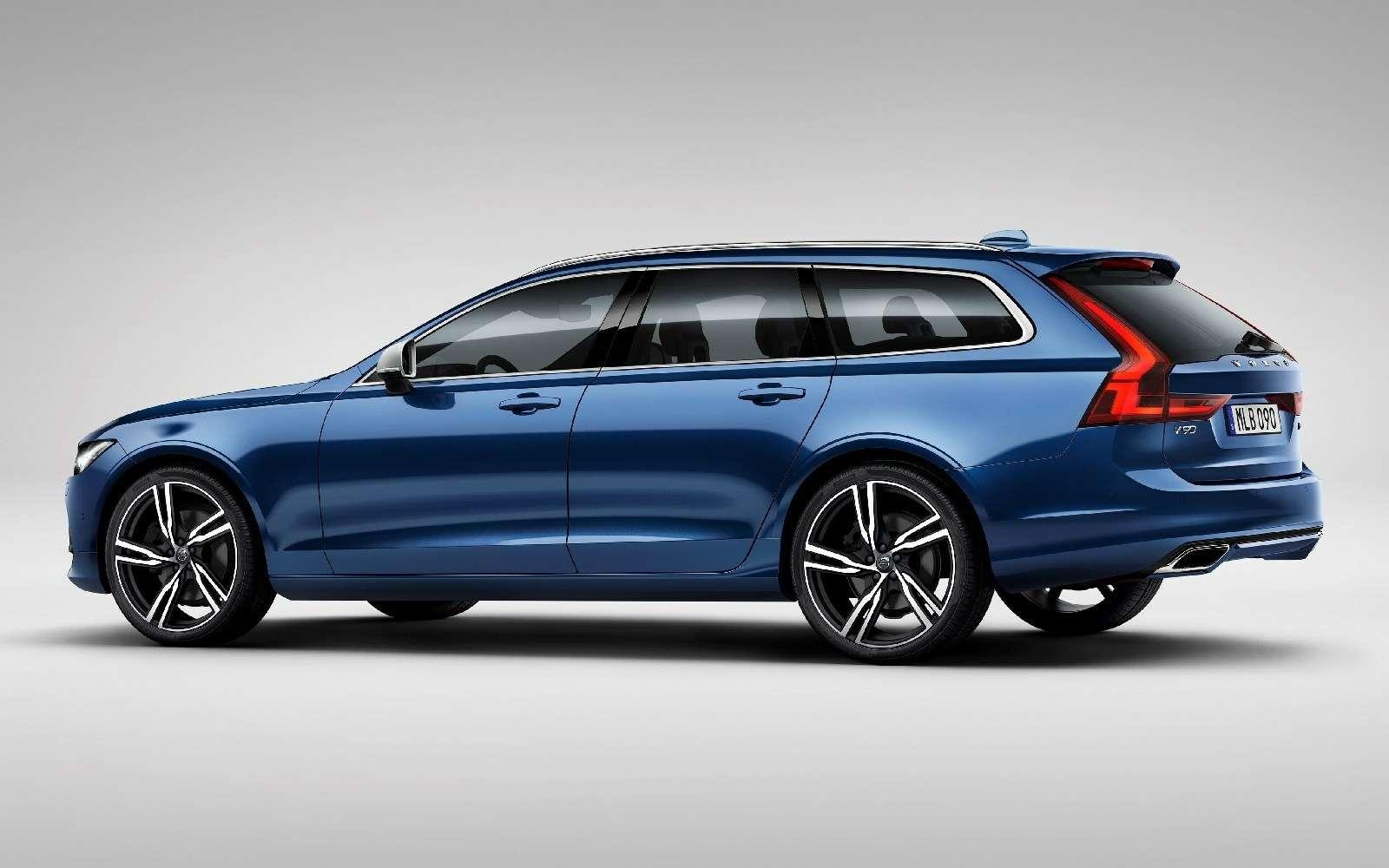 Volvo подготовила дляфлагманской модели спортпакет R-Design— фото 600928
