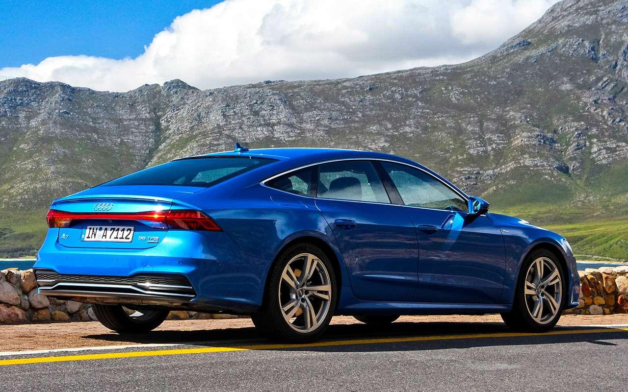 Audi A7Sportback— тест-драйв-искушение— фото 863168