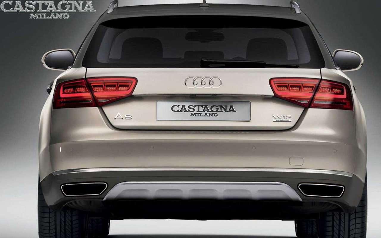 Audi A8станет универсалом повышенной проходимости— фото 933724