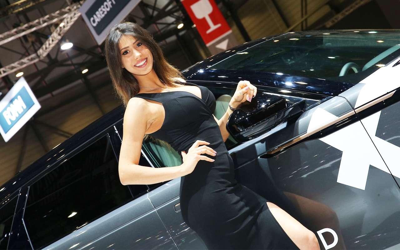 Самые красивые девушки Женевского автосалона— фото 851322
