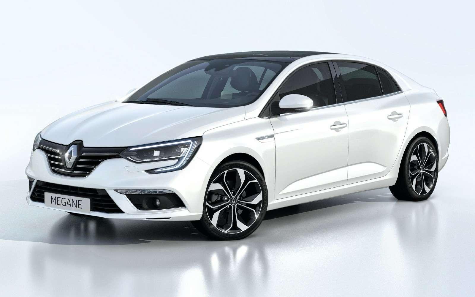 ИзТурции слюбовью: представлен новый седан Renault Megane— фото 607499