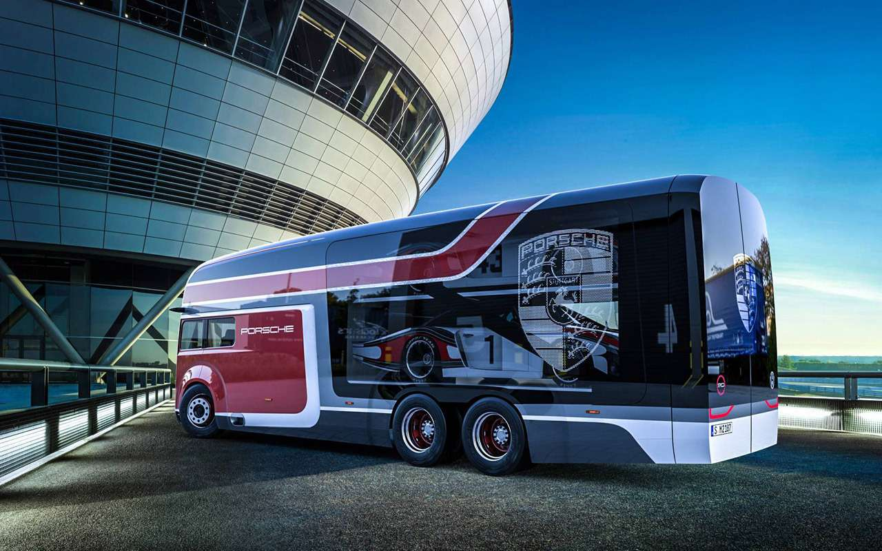 Русский дизайнер придумал автобус дляPorsche— фото 914606