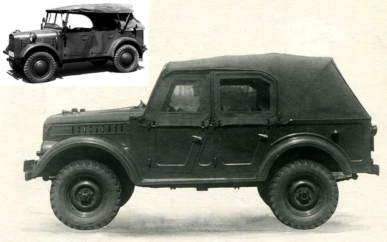 Удачно срисовали: что конструкторы СССР взяли изтрофейных машин— фото 900643