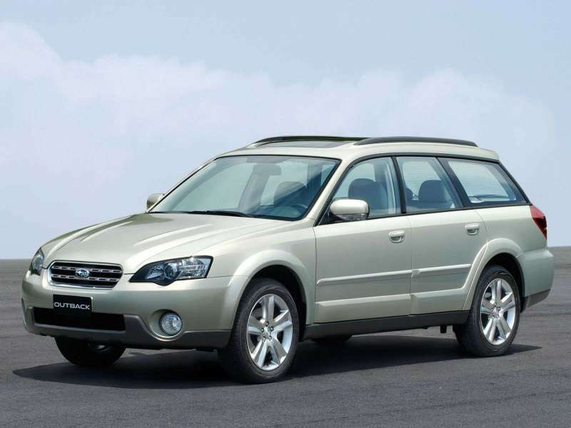 no copyright 2004 subaru outback