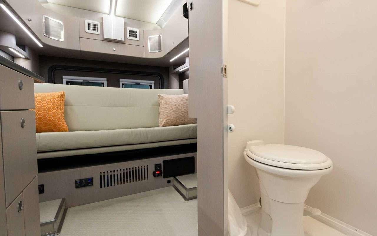 Квартира внутри... грузовичка. Без колес квартира дешевле!— фото 1198009