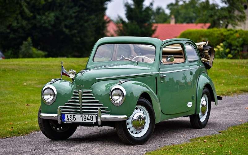 7a50ce80e9 Skoda 1101 Tudor 1948 — тест