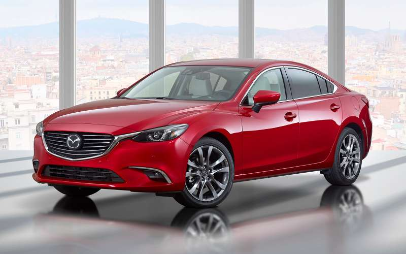 Mazda 6.Цены: 1204000— 1654600 рублей