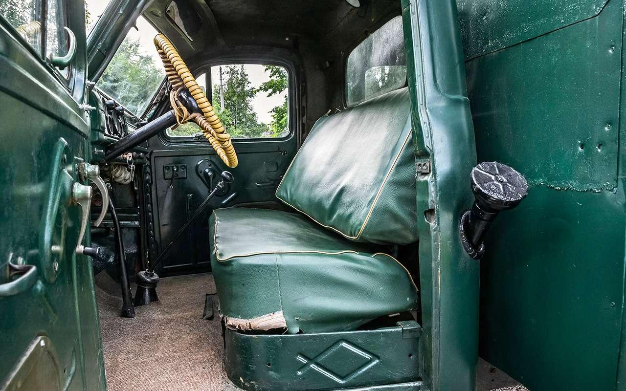 Свой парень: ретротест грузовика  ГАЗ-51— фото 845814