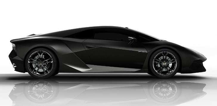 Lamborghini Gallardo successor rendering side view_no_copyright