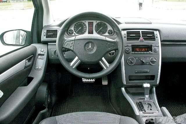 Mercedes-Benz B200. Позакону бутерброда— фото 59786