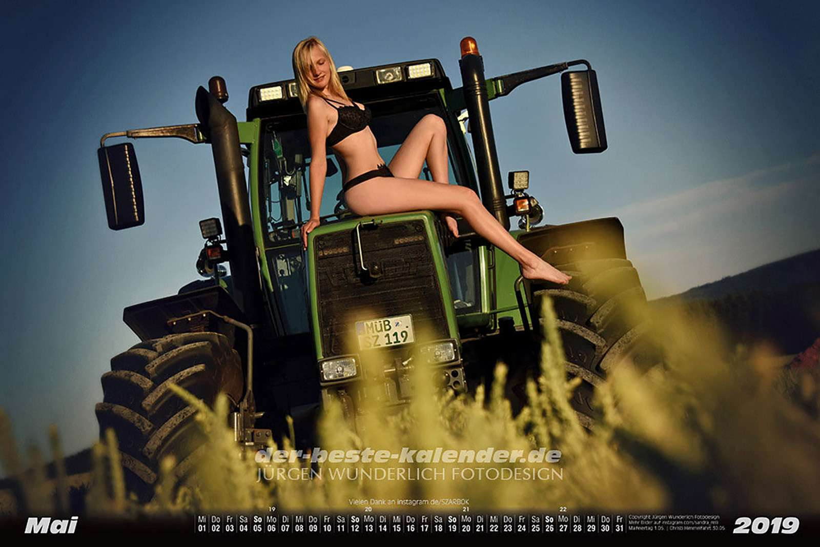 Секс ифермерская техника— провокационный календарь на2019год— фото 938690