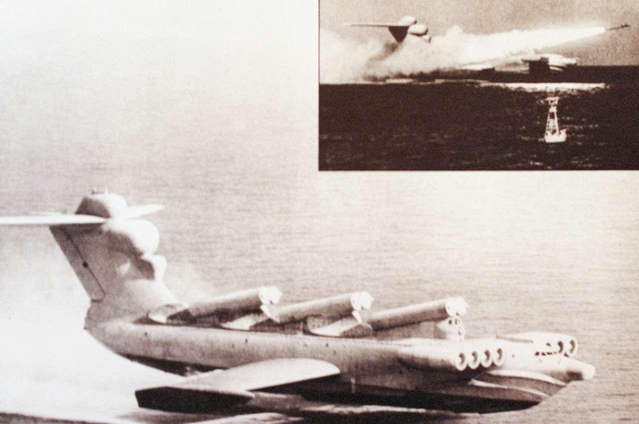 Экраноплан «Лунь»: хватало одного, чтобы разбомбить авианосец— фото 1234313