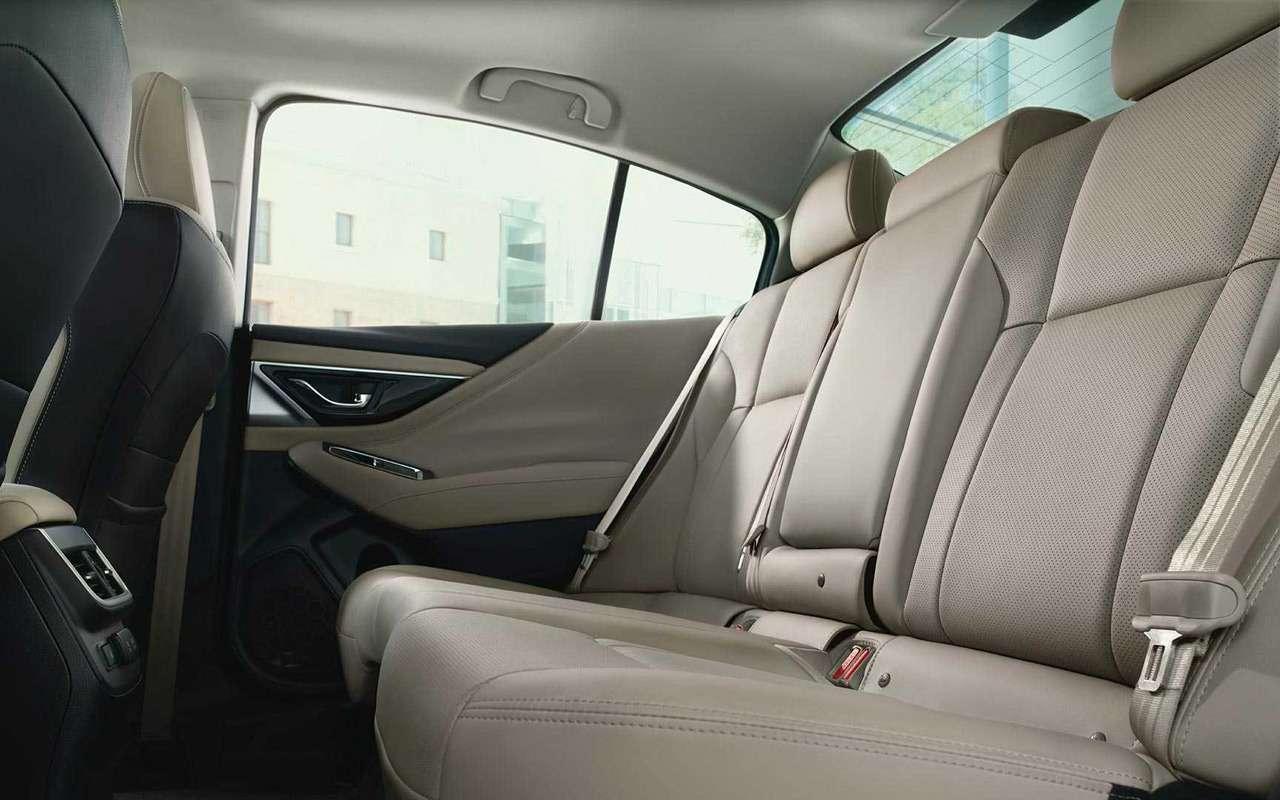 Subaru представила новое поколение Legacy: ждем вРоссии— фото 947321