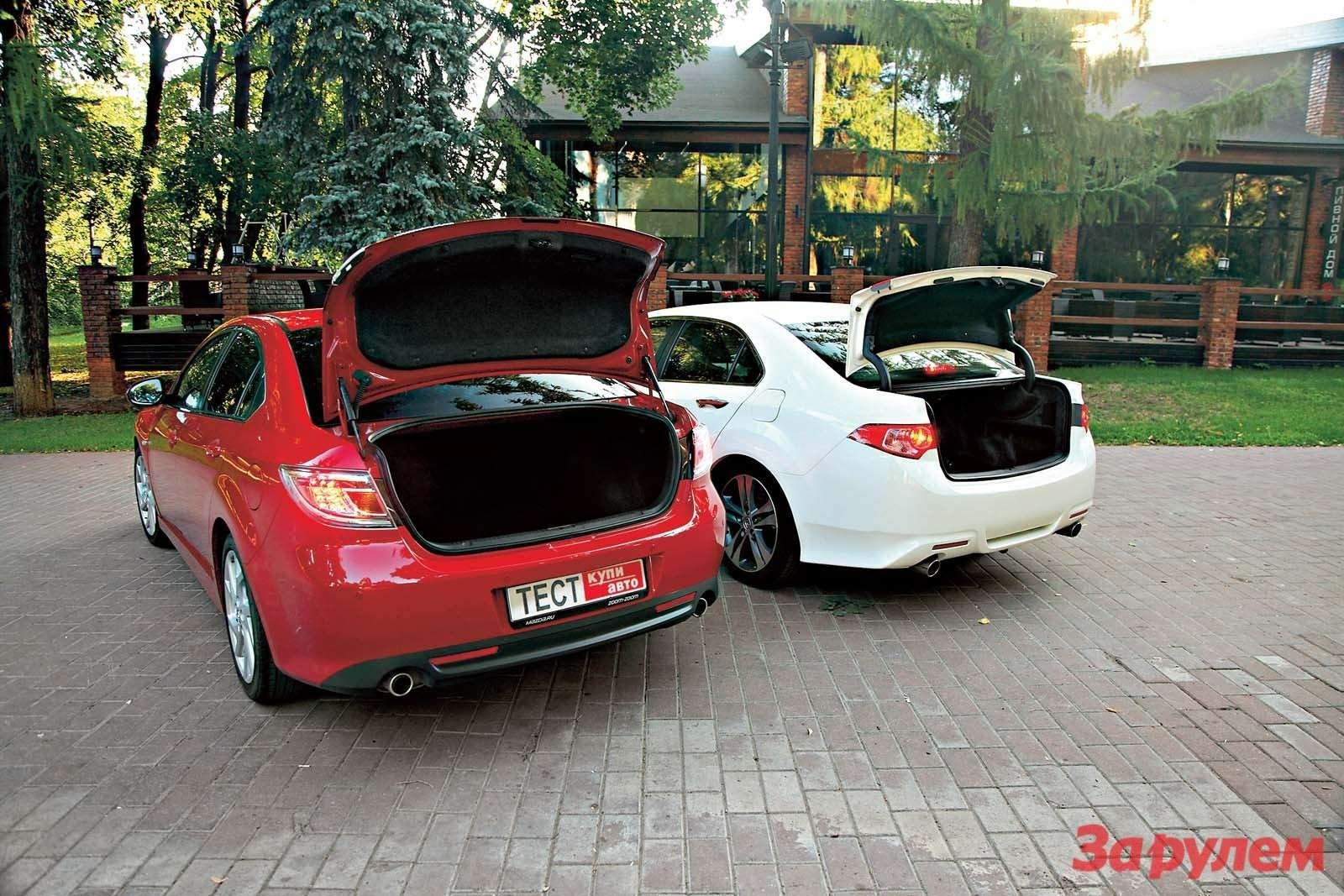 «Хонда-Аккорд», от999000 руб. vs«Мазда-6», от749000 руб.