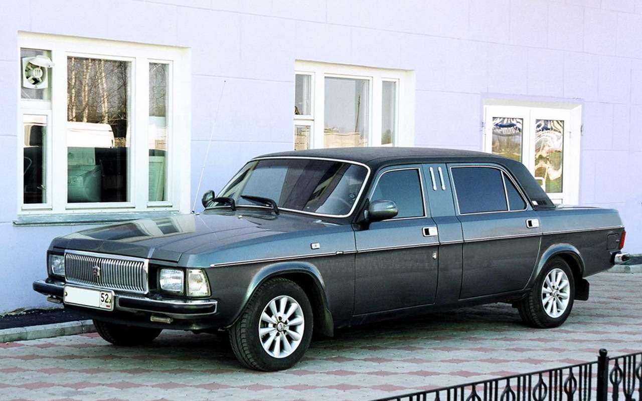 12версий ГАЗ-3102, которых выникогда не видели— фото 1007760