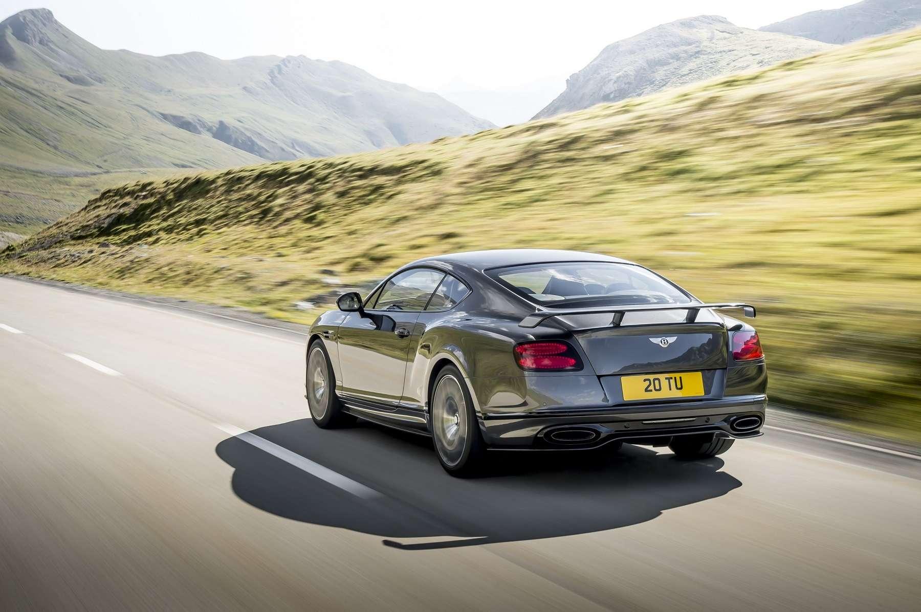 Джентльмен сбитой: представлен самый мощный ибыстрый Bentley вистории— фото 689989