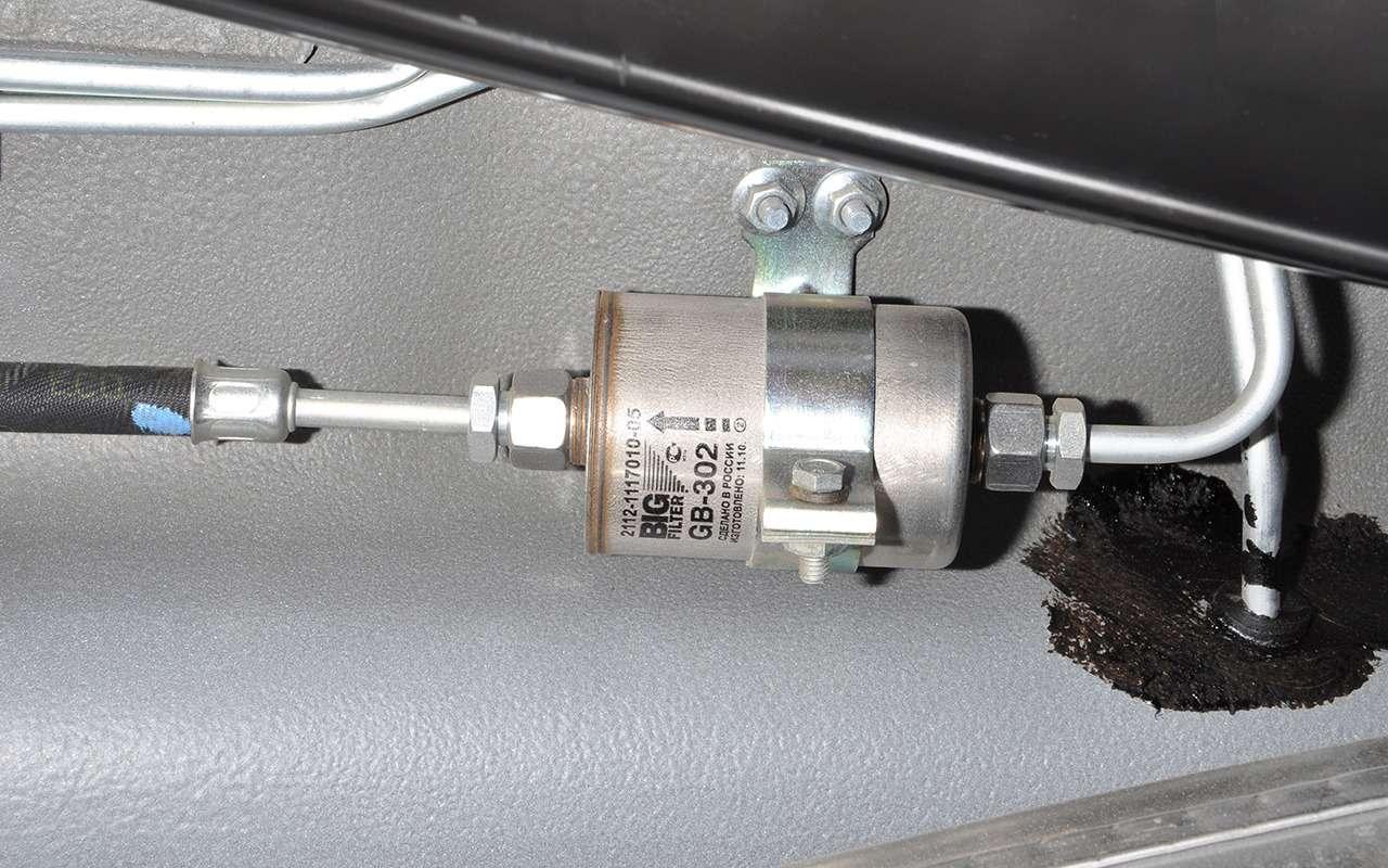 Топливный фильтр: менять или итак сойдет?— фото 824400