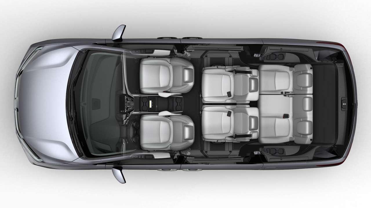 Домохозяйки аплодируют: Honda представила новый минивэн Odyssey— фото 690584