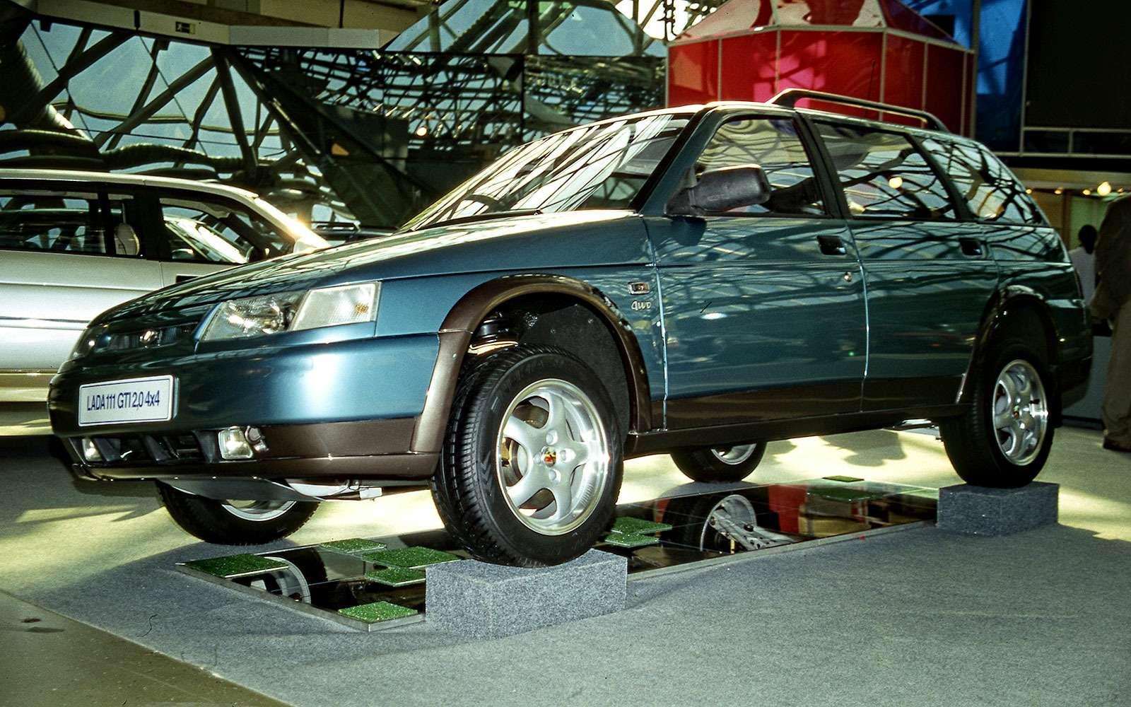 ВАЗ-21116-04(Lada GTi 2.0), 2000г.