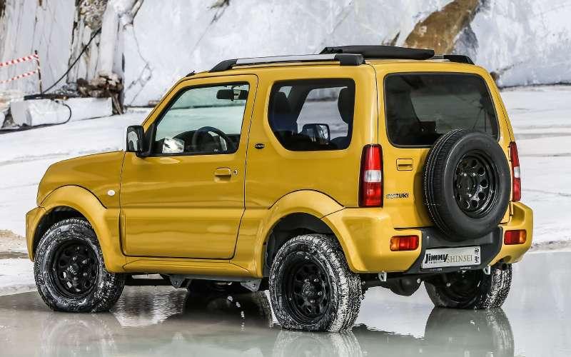 Святая простота: вышла спецверсия вседорожника Suzuki Jimny