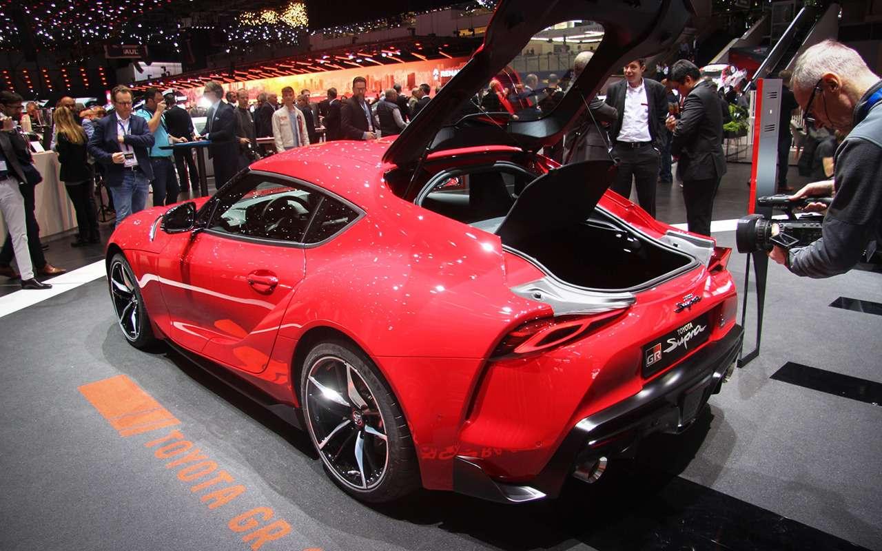 Новая Toyota Supra— легенда возвращается (ивРоссию тоже!)— фото 955295