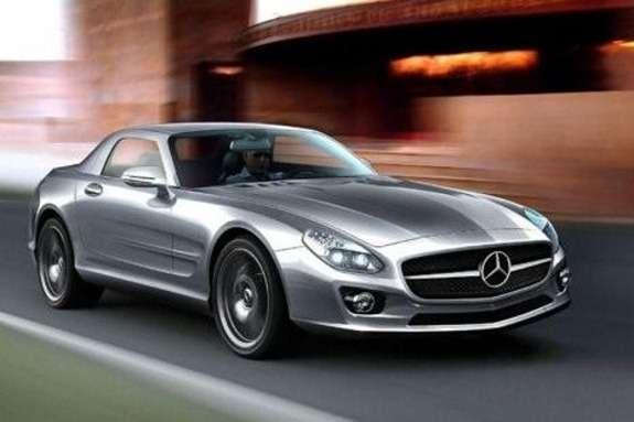 Mercedes-Benz SLC render