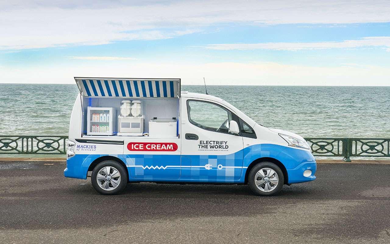 Nissan теперь угощает… мороженым!— фото 981781