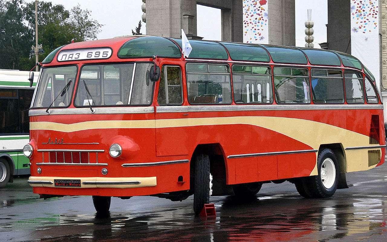Автобусы изСССР— серийные иэкспериментальные— фото 1035351