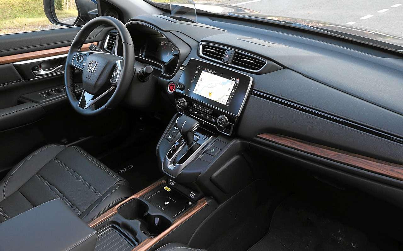 Обновленная Honda CR-V— главные минусы (иплюсы)— фото 1200263