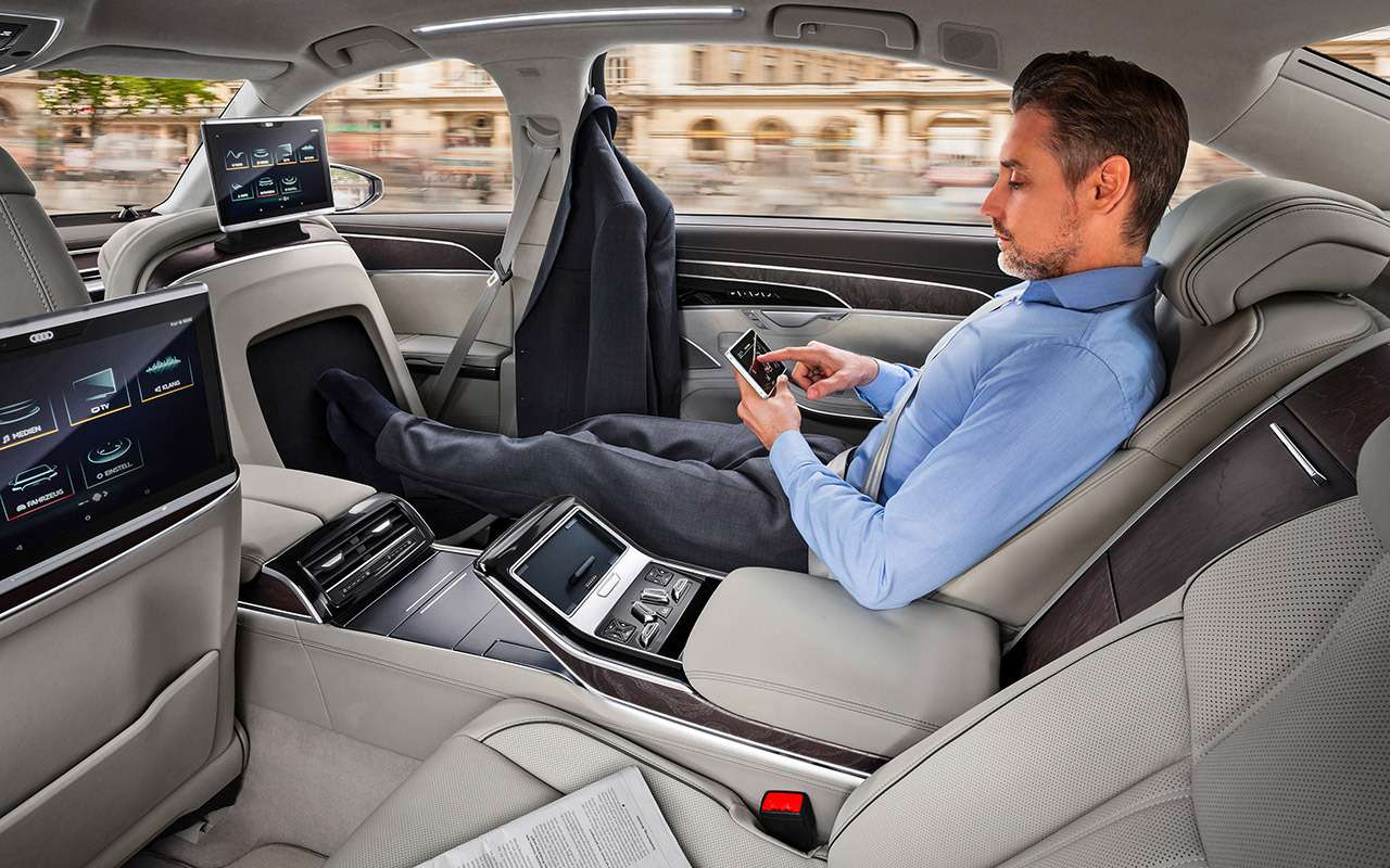 Новая Audi A8— проверяем задатки рефлексолога— фото 790717