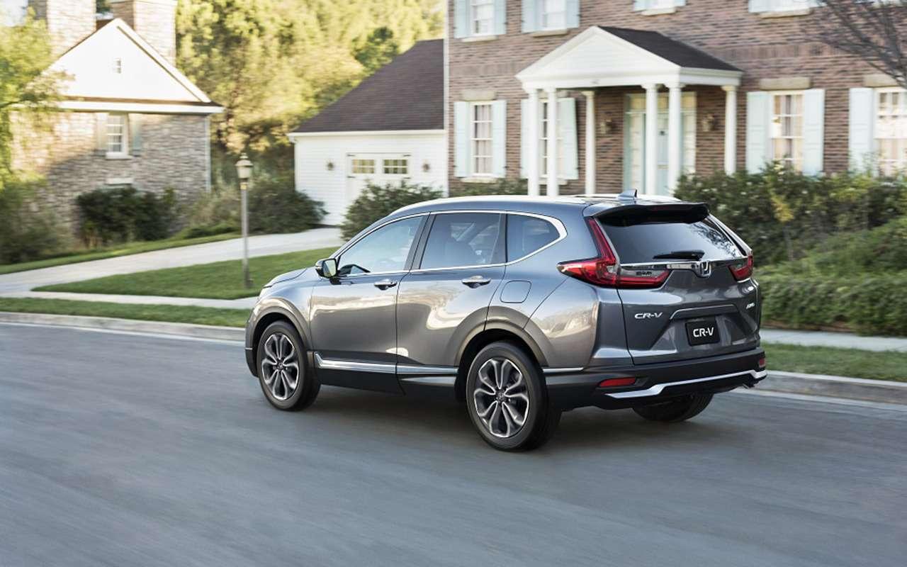 Обновленный Honda CR-V: известны цены— фото 1172731