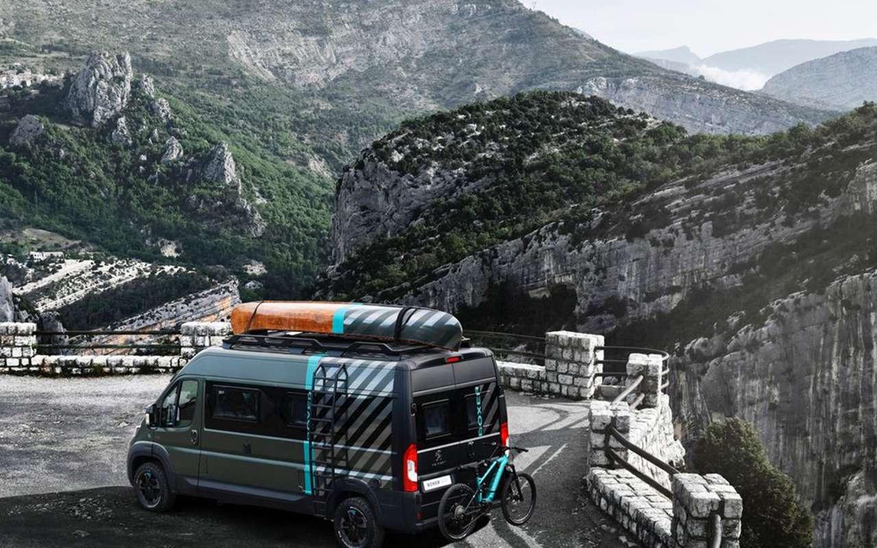 Автодом натроих: Peugeot Boxer вновом исполнении— фото 1055244