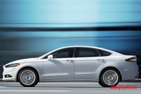 Ford Fusion side view