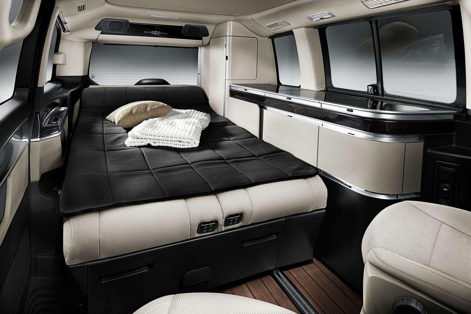 Mercedes-Benz предложил покупателям вРоссии микроавтобус дляпутешествий— фото 368340
