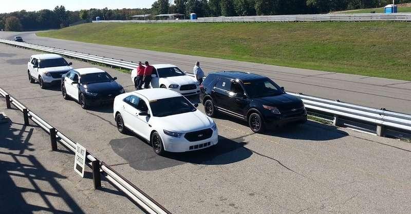 Полицейские автомобили Ford разгоняются быстрее конкурентов