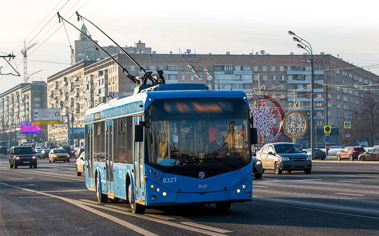 Электробус столицы: онможет проехать 59км. Ноэто нормально— фото 1088780