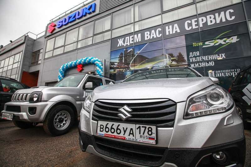 New Suzuki dealership opens in St Petersburg