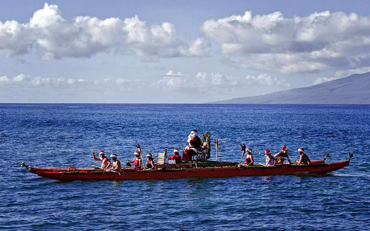 ДедМороз, Санта-Клаус иПер-Ноэль— весь ихгараж!— фото 826665