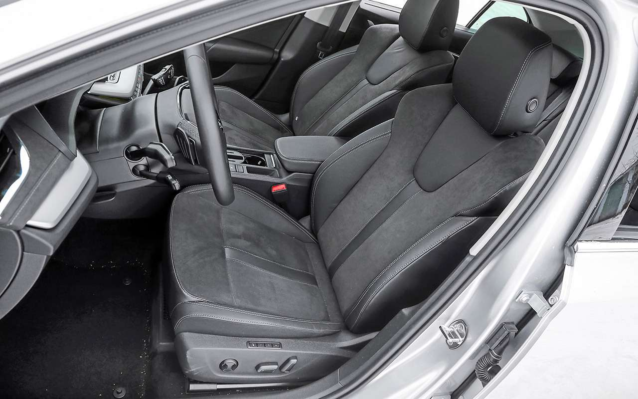 Skoda Octavia, Kia K5, Mazda 6— большой тест— фото 1221410