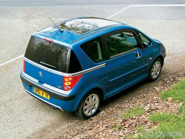 Peugeot 1007. Сезам открылся— фото 56407