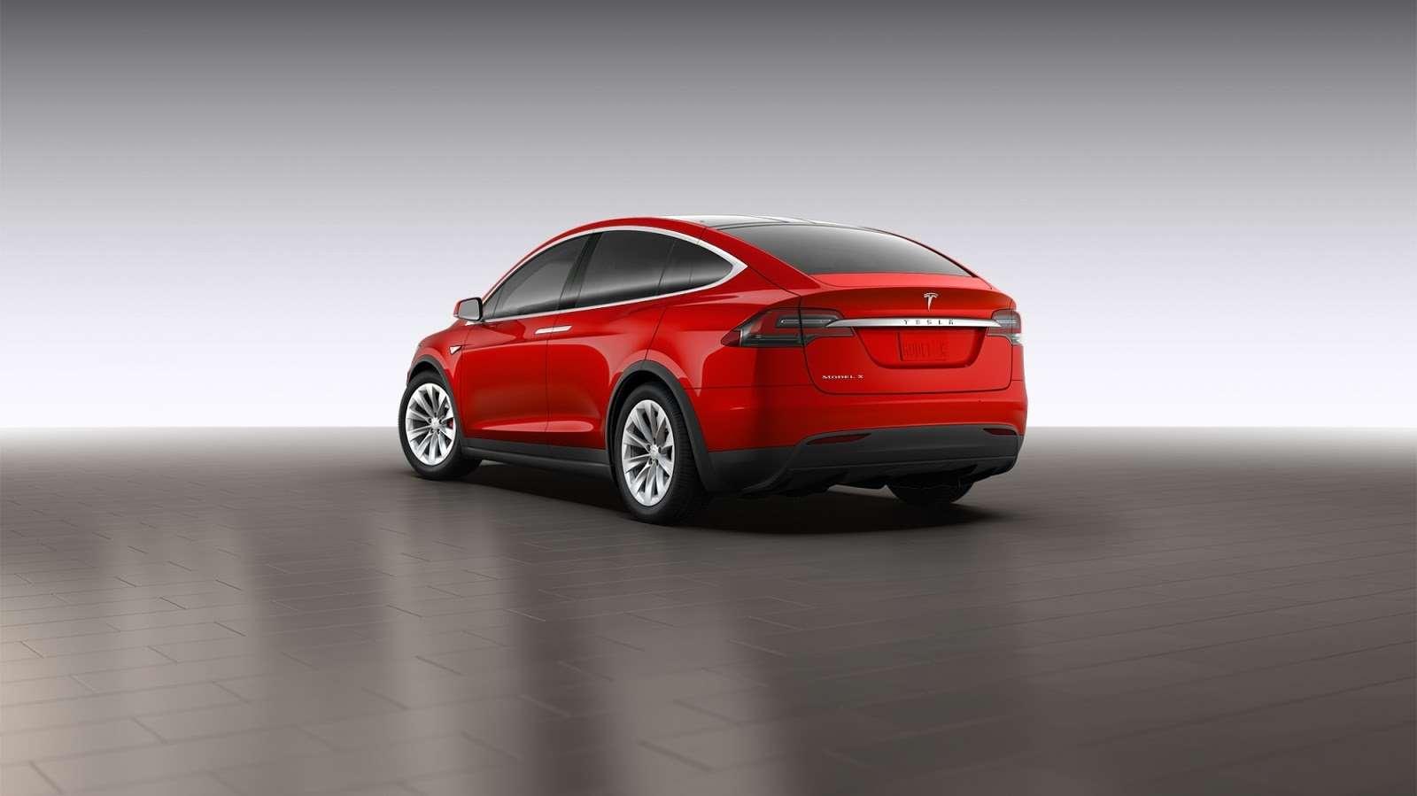 Tesla Model XSignature Series
