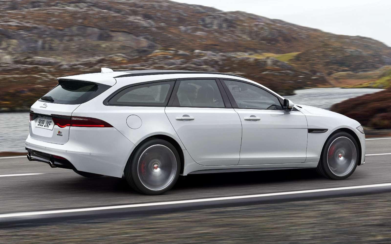 Jaguar XFSportbrake— самый красивый универсал июня— фото 764851