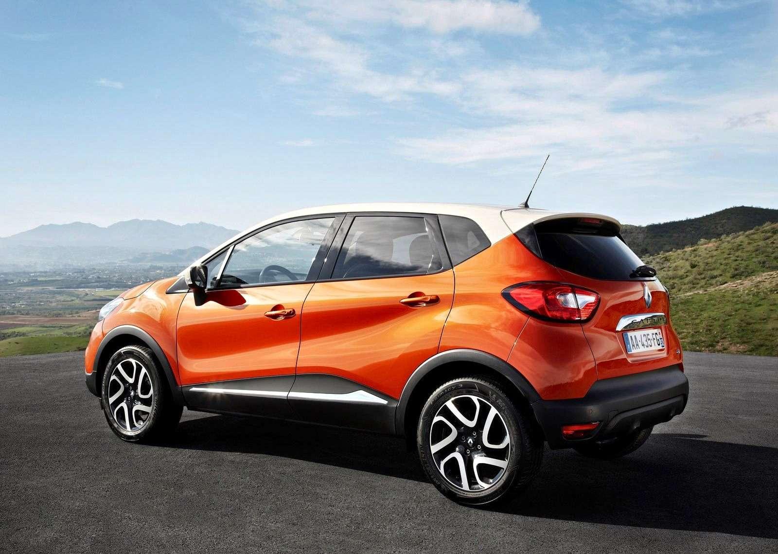 Renault Kaptur российской сборки: стиляга изМосквы— фото 583542