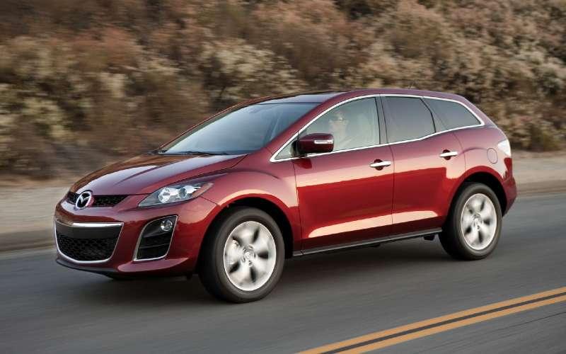Mazda отзывает кроссоверы CX-7 из-за риска потери рулевого управления