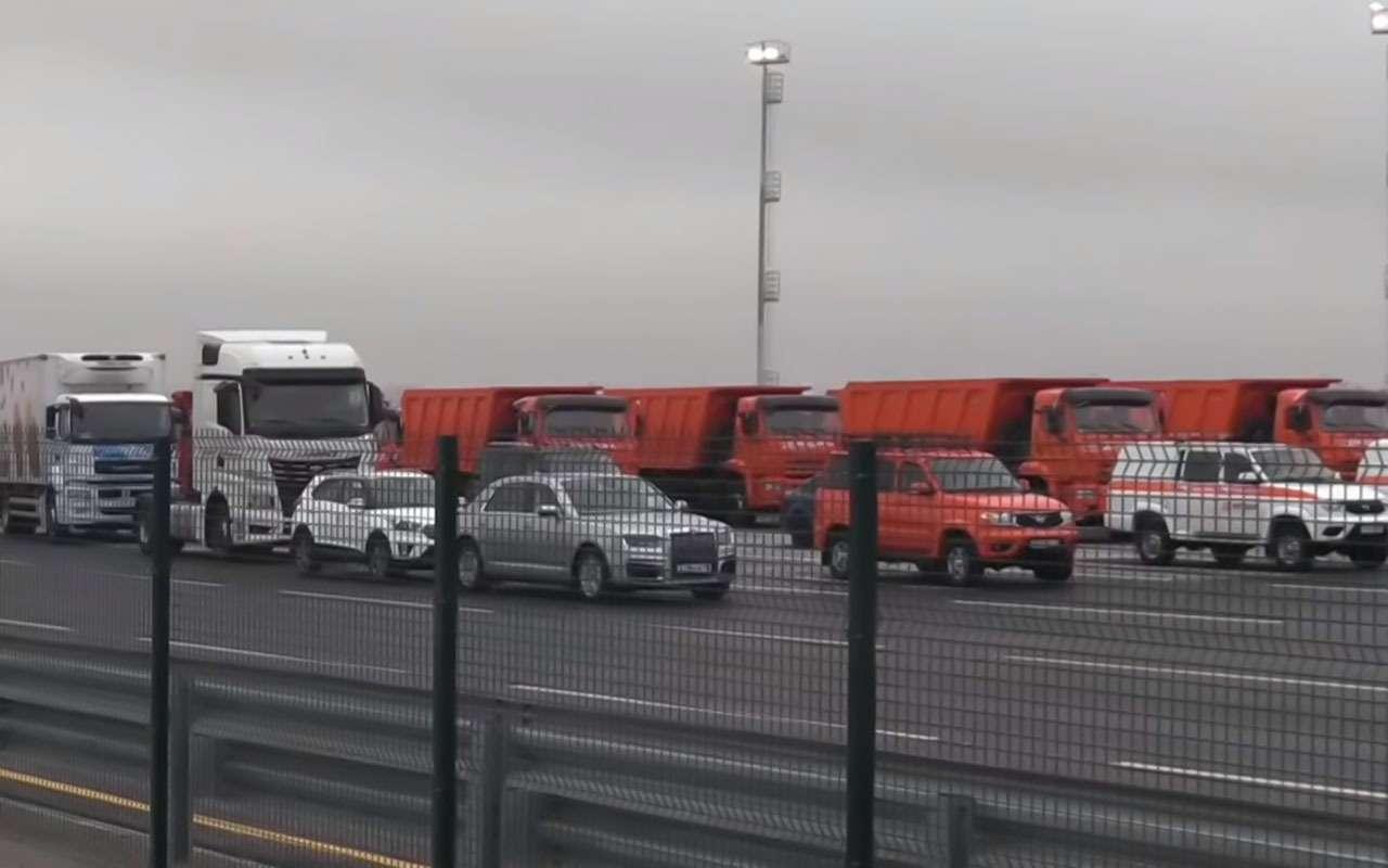 Путин открыл скоростную платную трассу М-11«Москва— Санкт-Петербург». Имя ей— «Нева»— фото 1011960