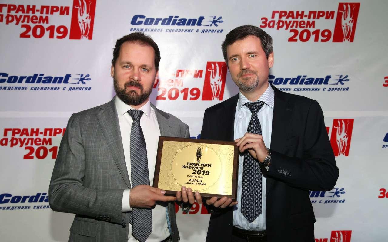 Гран-при «Зарулем»: лучшие автоновинки исобытия 2018 года— фото 961709