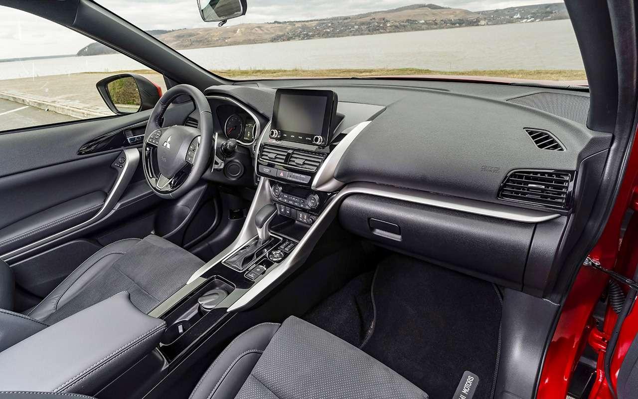 Mitsubishi Eclipse Cross 2021: все изменения (цена тоже новая)— фото 1259554