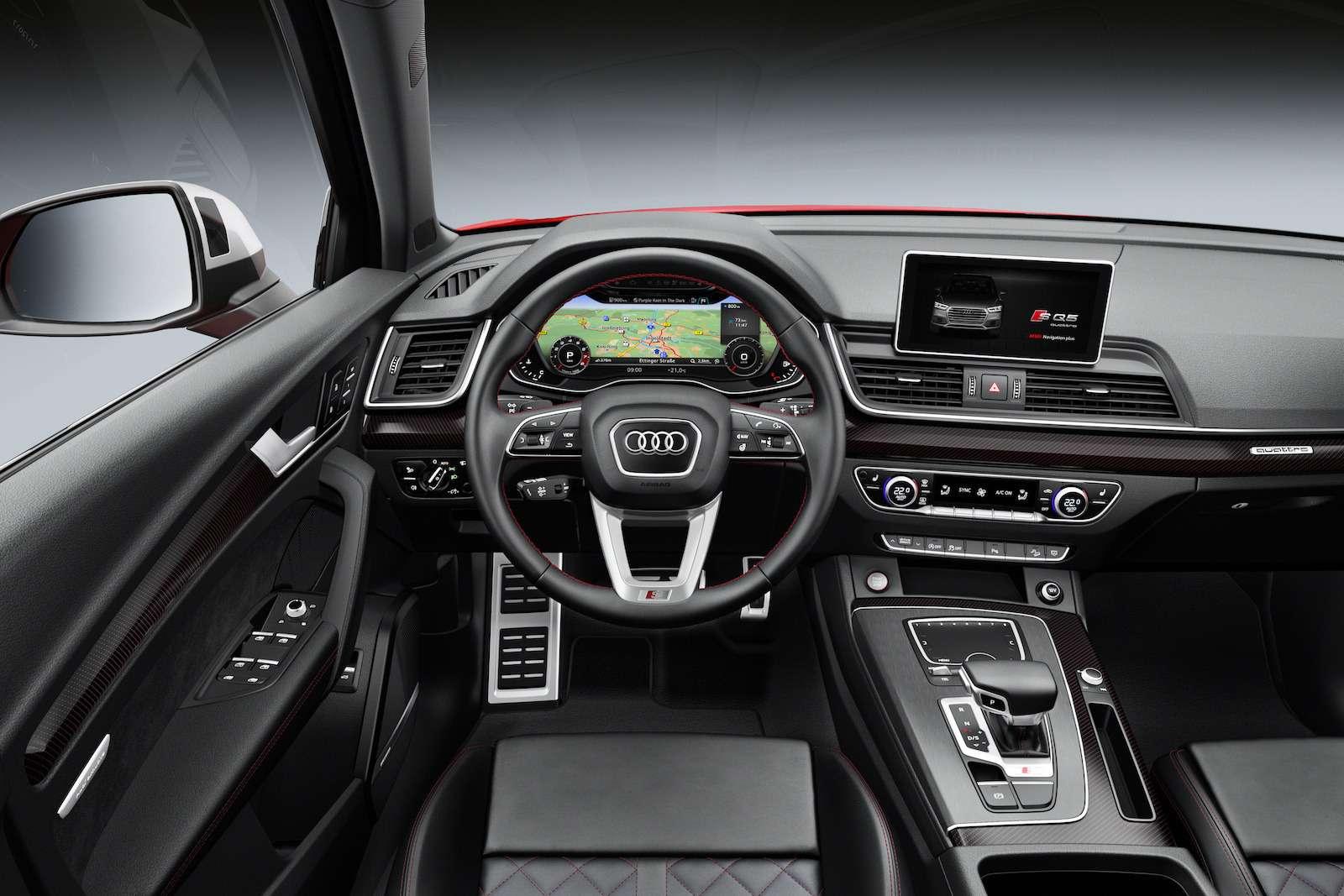 МАКС-2017: премьера Audi SQ5и RS5и гонки ссамолетами— фото 777804
