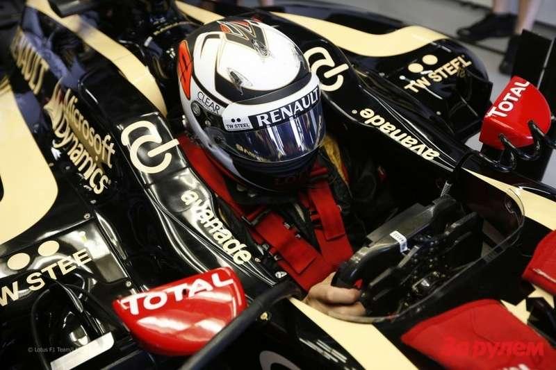 Кими Райкконен, Lotus-Renault